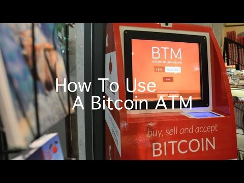 How To Use A Bitcoin ATM | Bitcoin ATM Tutorial