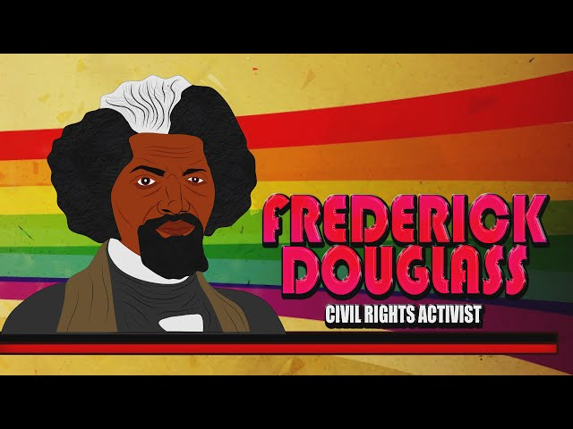 Frederick Douglass for Kids:  Cartoon Biography  Educational Videos for Students