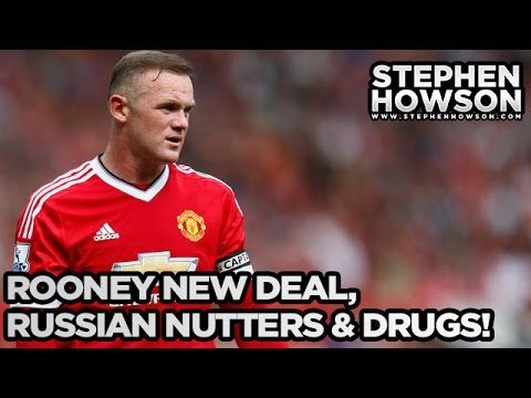 Rooney New Deal, Russian Nutters & Drugs! | Sunday Paper Review