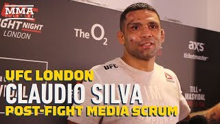 UFC London: Claudio Silva Says Submission of Danny Roberts Was Legit: 'He Shouted Twice'