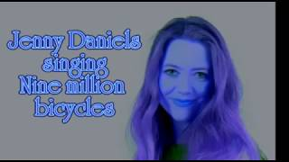 Nine million bicycles - Jenny Daniels singing (Cover)