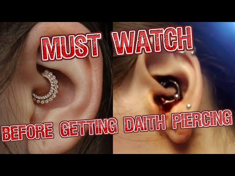 Piercer Discusses DAITH Migraine Cure Piercing