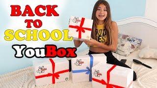 BACK TO SCHOOL!❤️ ОТКРЫВАЮ Сюрприз-Боксы для ШКОЛЫ!❤️ ЧТО ВНУТРИ YouBox?!