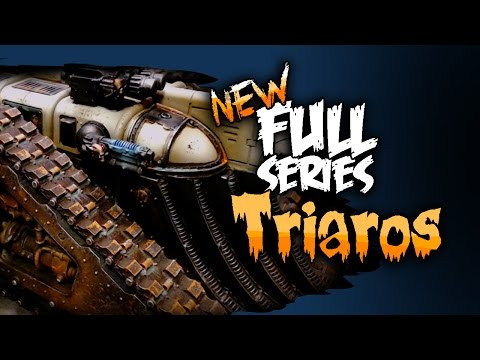How To Paint The Mechanicus Triaros
