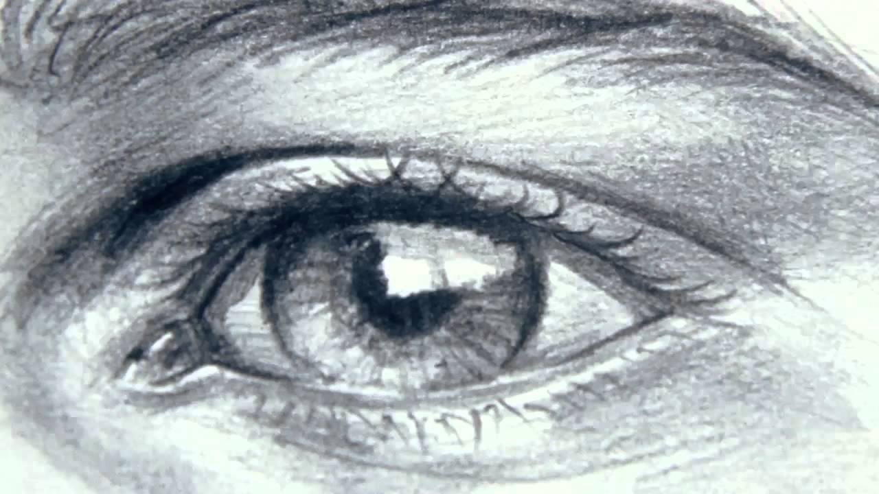 How to draw eyes / eyebrows - Mural Joe - YouTube