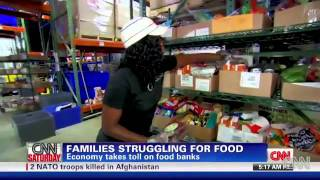 U.S. Food Banks Struggle To Keep Up (08/13/2011)