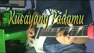 Gambar cover Kusayang padamu - Guitar cover by ; Arnos kamjet
