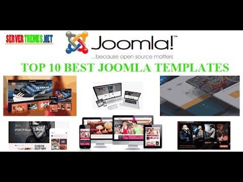 Top 10 Best Joomla Templates 2015 - Video ServerThemes.Net