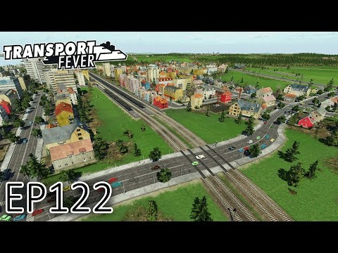 Transport Fever Gameplay   Two Track to Four Track Railways   The Great Lakes   S2 #122