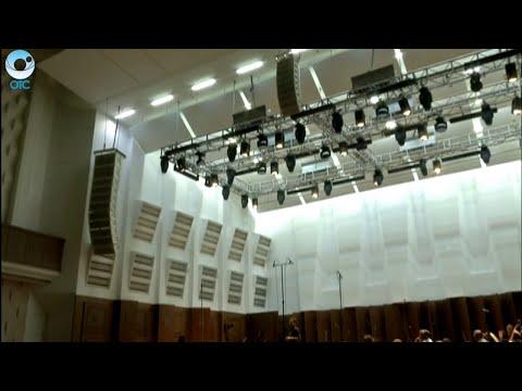 Громко и чётко. В Новосибирской филармонии завершили установку специальных акустических панелей