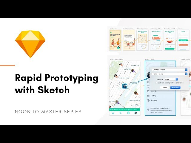 Rapid Prototyping with Sketch App - Sketch: Noob to Master, ep10