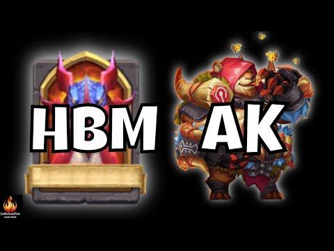 Castle Clash HBM AK Here Be Monsters AK