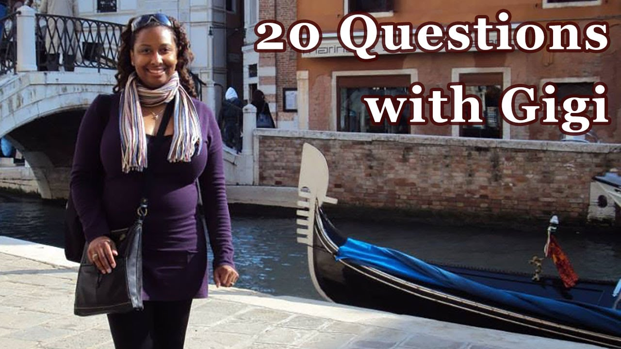 20 Questions with...Gigi of La Bella Donna History || Ice Breaker Questions with Costumers