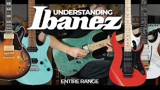 Understanding The Ibanez Range - Buyers Guide