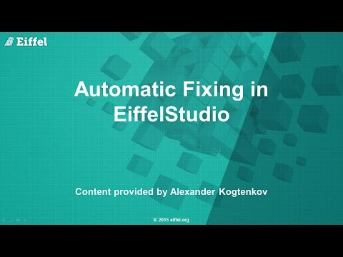 Automated Fixing in EiffelStudio