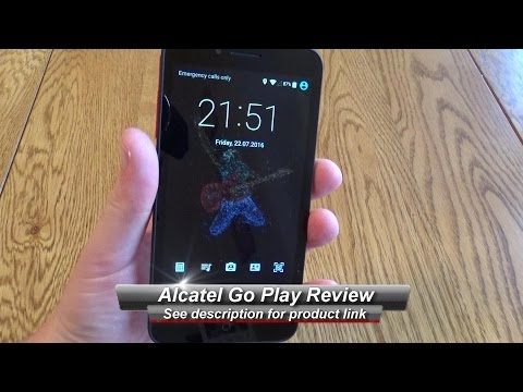 Alcatel Go Play IP67 4G Android Mobile Review