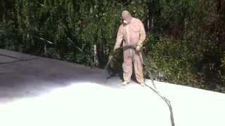 Утепление ангара пенополиуретаном Москва 8(916)711-06-00(утепление пенополиуретаном цена утепление пенополиуретаном отзывы утепление стен пенополиуретаном чем..., 2015-03-27T18:08:05.000Z)