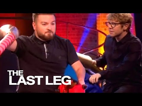 Trying A New Fitness Trend: Jousting - The Last Leg