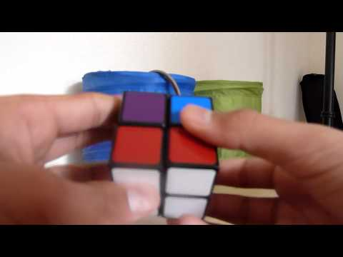 How to solve a 2x2 Rubiks cube (Part 2)- The Second Layer