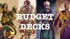 [War of Omens #1] BUDGET DECKS FOR NEW PLAYERS (Vespitole, Daramek, Metris, Endazu)