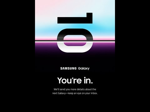 Galaxy S10 RESERVE YOUR PREORDER NOW! Mp3