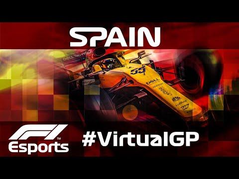 F1 Virtual Spanish Grand Prix, Full Race!