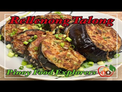 Rellenong Talong| Pan-Fry Stuffed Eggplant | How To Cook