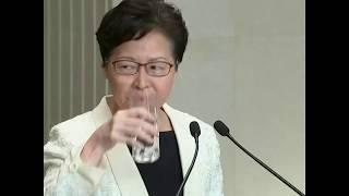 香港特首林郑月娥: 从未向中央政府提出辞职