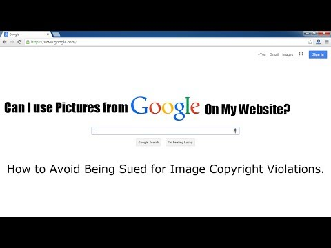 Can I Use Images or Pictures from Google on My Website?