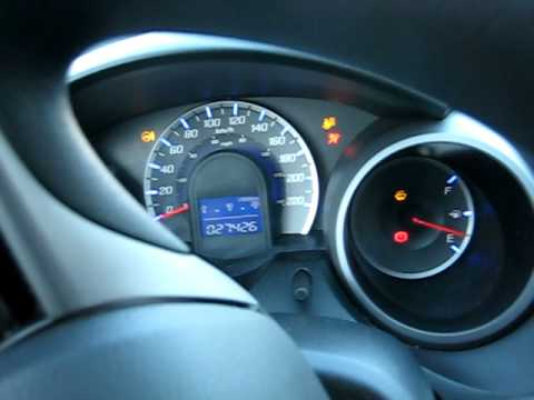 Honda Fit 2009 VERY COLD Start -30