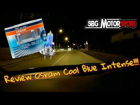 osram cool blue intense h7 unpacking compared doovi. Black Bedroom Furniture Sets. Home Design Ideas