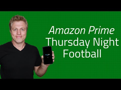 Thursday Night Football Live On Amazon Prime And Twitch.tv -NFLprime