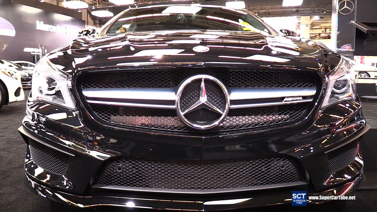 2016 Mercedes Amg Cla Class Cla 45 4matic Exterior And Interior Walkaround 2016 Montreal Auto