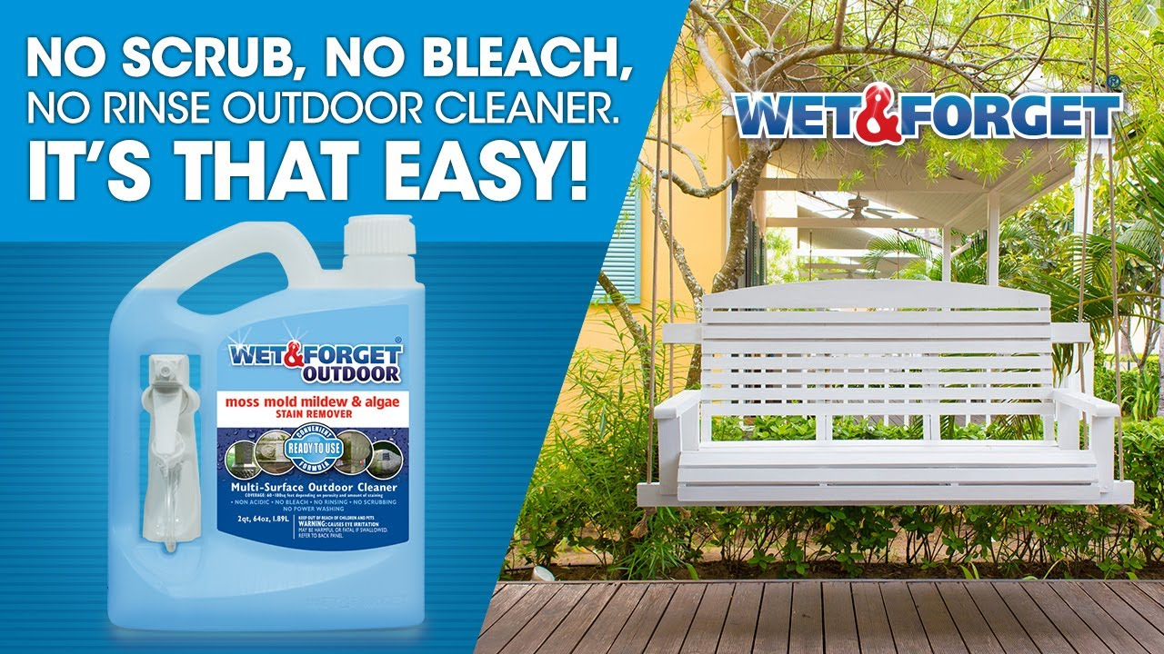 Wet & Forget Ready-To-Use No Scrub Outdoor Cleaner Product