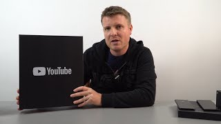 Late YouTube Silver Play Button Unboxing - Channel Update, Promises & More. Vlog #6