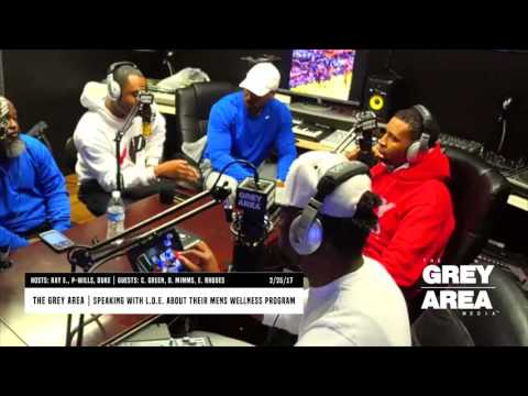The Grey Area | Show #12 | Mens Health & Wellsness | What is L.D.E.? | Part 1 | 2/25/17