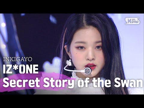IZ*ONE(아이즈원) - Secret Story of the Swan(환상동화) @인기가요 inkigayo 20200621