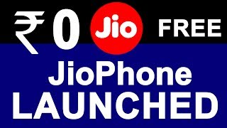 Jio 4G VoLTE Phone Launched in ₹0 | Reliance JIO Feature Phone Details | Delivery & Booking Dates