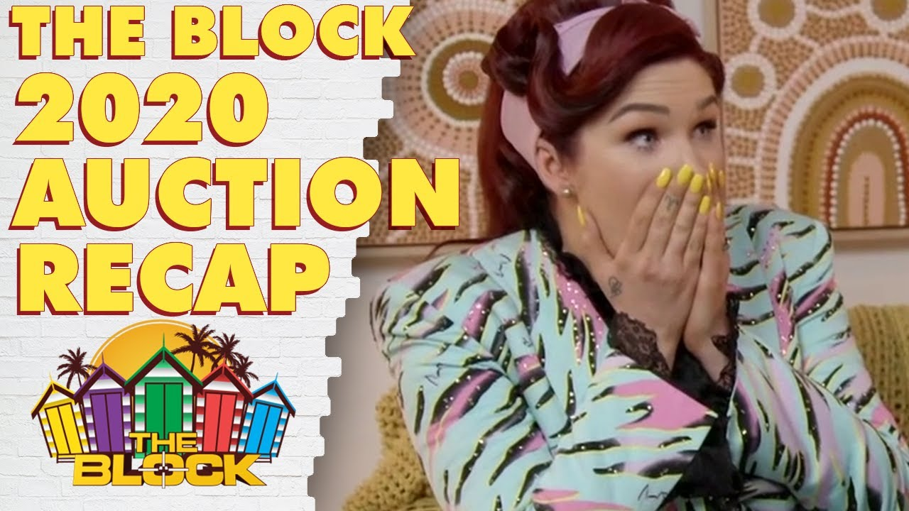 The Block auction day recap: Five houses go under the hammer as new records are set | The Block 2020