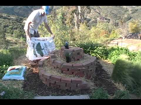 4 Step Guide To Building A Herb Spiral - The Micro Gardener