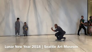 Lunar New Year 2018 performance at the Seattle Art Museum