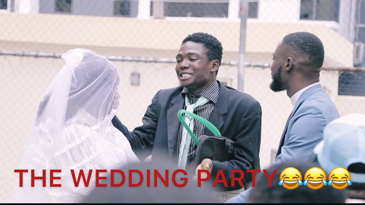 Shank Comics – The Wedding Party