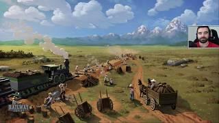 Railway Empire #9 - Dostarczyć wojsko do Atlanty!