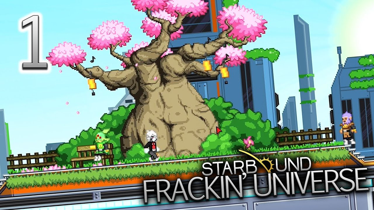 Starbound Frackin' Universe (Part 1) - Overwhelming Potential [PC Gameplay]