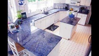 видео Белый кухонный стол: материалы столешницы