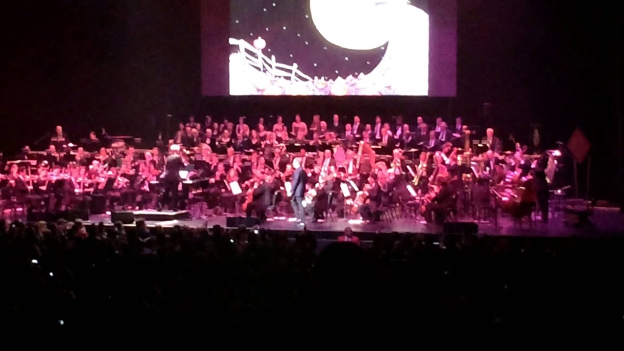 the nightmare before christmas danny elfman overture and jacks lament oct 31 2013 nokia theater - Danny Elfman Nightmare Before Christmas Overture