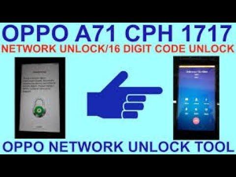 OPPO Network unlock tool 2019 / A3s, F7, F9, F9 Pro, R11