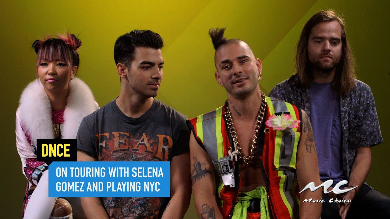 DNCE on Touring with Selena Gomez