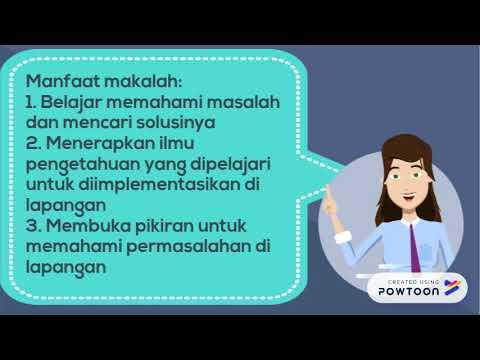 """TUGAS BAHASA INDONESIA(VIDEO MATERI """"MAKALAH"""")"""