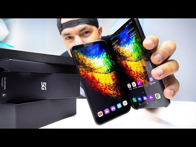 """O SMARTPHONE 5G com 12"""" [dual screen]"""
